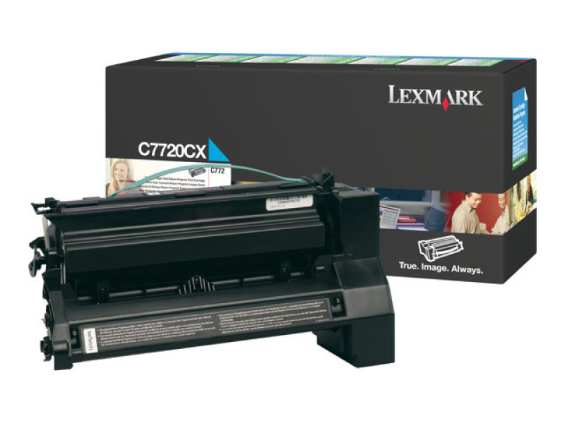 Click to view product details and reviews for Lexmark C770 Ex Hy Toner Cyan 00c7720cx.