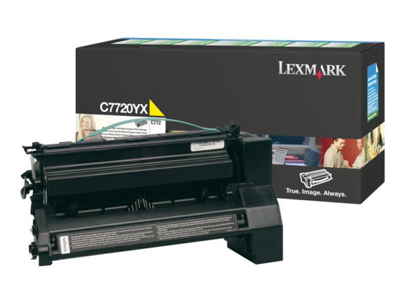 Lexmark C770 Ex Hy Toner Ylw 00c7720yx