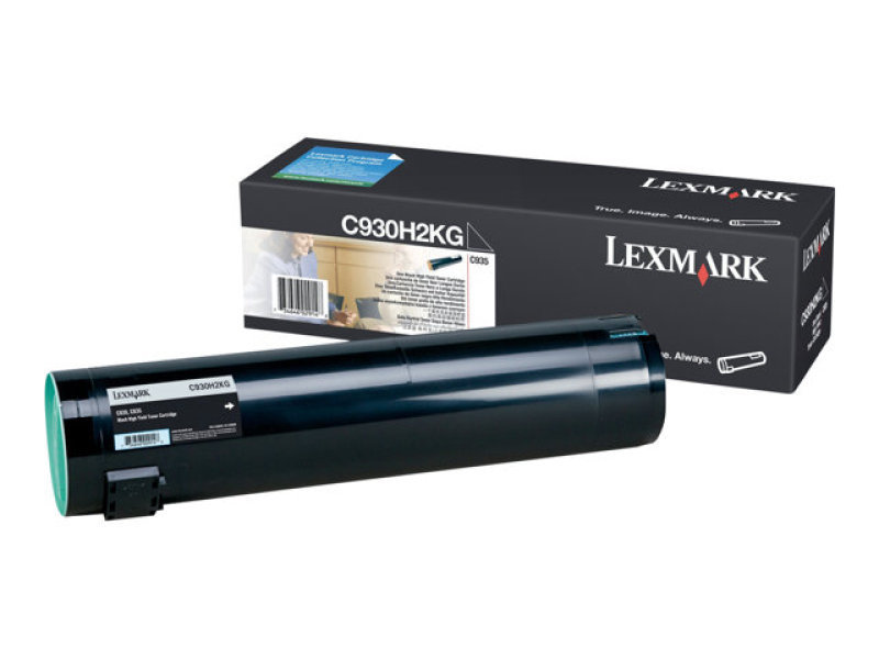 Lexmark C930 Black High Yield Toner Cartridge C930H2KG