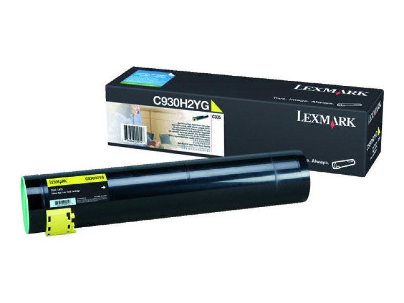 Lexmark Toner Cartridge Hy Yllw