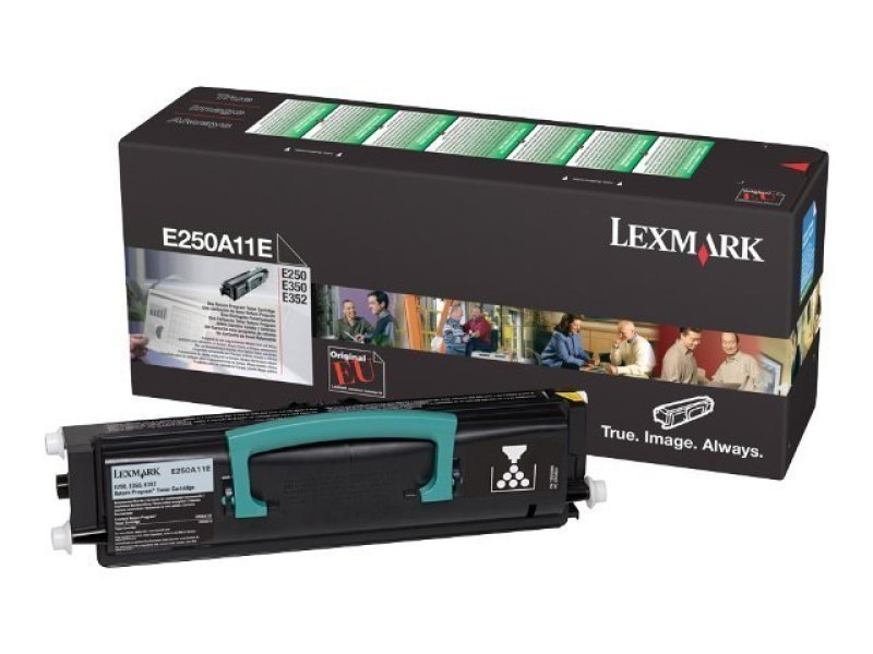 Lexmark E250 Black Return Program Toner Cartridge E250A11E