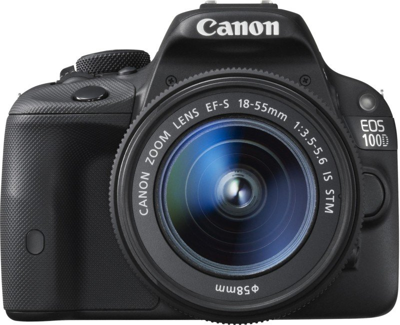 Canon EOS 100D Digital SLR With 1855MM Lens