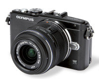 Olympus PEN E-PL5 With 14-42mm Lens (Black)