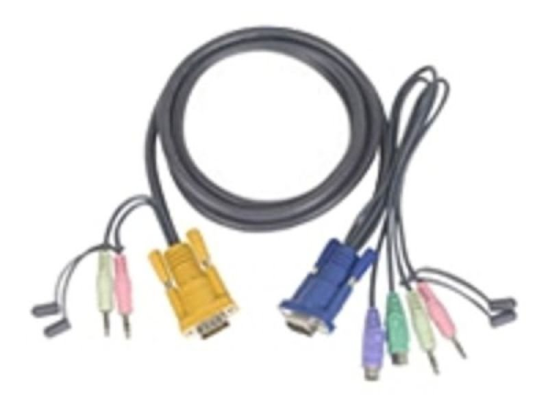 ATEN 2L-5303P Keyboard / mouse / video / audio cable 3m
