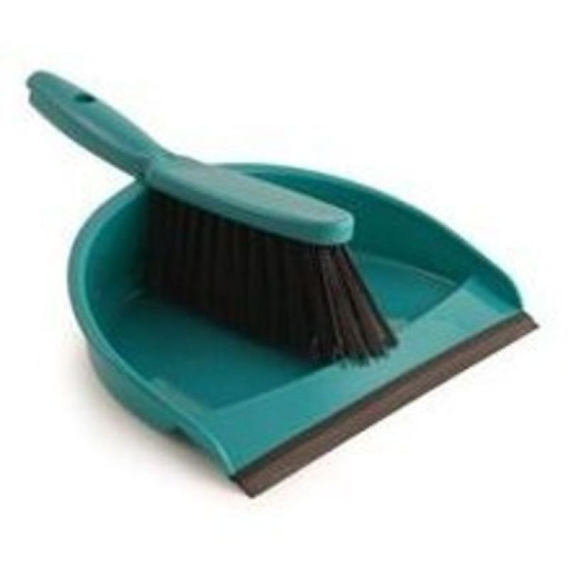 Bentley Dustpan Brush Set Green