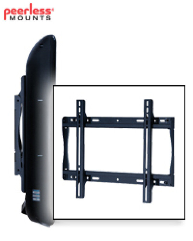 "Flat-to-wall Fixed Wall Mount For Lcd Screens 23"" - 46"" Max We"