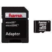 Hama 16GB microSDHC w/ Adapter