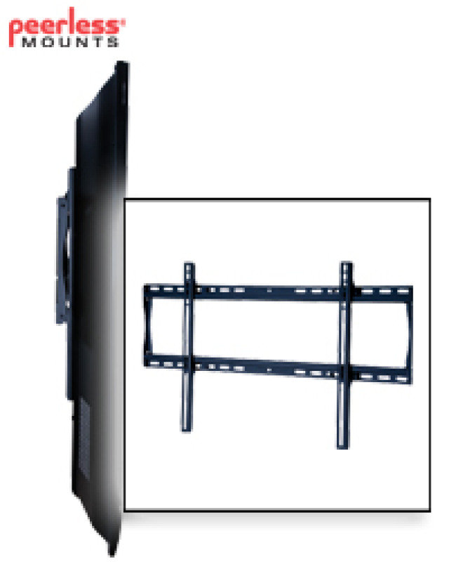 """Fixed Flat-to-wall Mount For Lcd/plasma Screens 37"""" - 63"""" Max"""