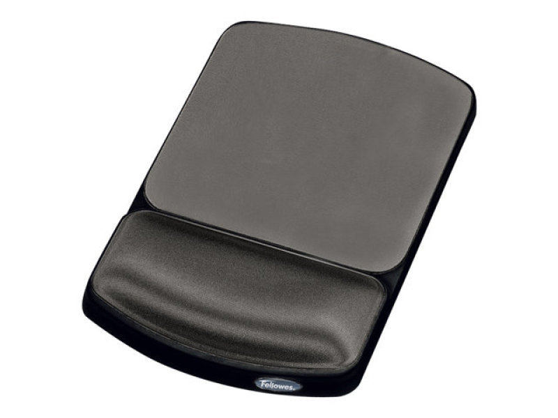 Fellowes Premium Gel Mousepad Wrist Support - Graphite