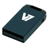 V7 USB 2.0 Nano Stick 8GB (Black) Flash Drive