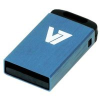 V7 8GB USB 2.0 Nano Flash Drive (Blue)