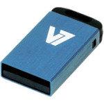 V7 USB 2.0 Nano Stick 4GB (Blue) Flash Drive