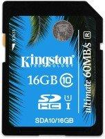 Kingston 16GB SDHC UHS-I Ultimate Flash Card