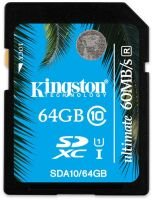 Kingston 64GB SDXC Ultimate Flash Card