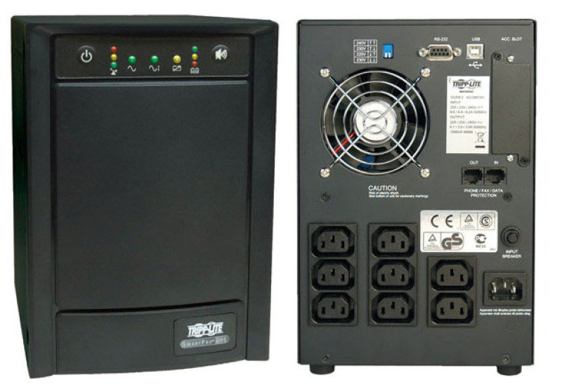 Tripplite 1500va Tower Smartpro Ups (8 C13 Outlet)