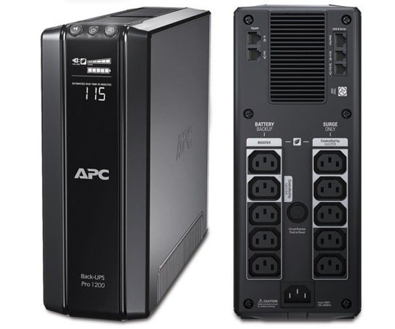 APC Back-UPS Pro,720 Watts /1200 VA,Input 230V /Output 230V