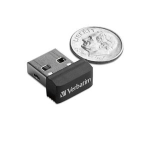 Verbatim Store 'n' Stay 32GB Nano USB Flash Drive (black)