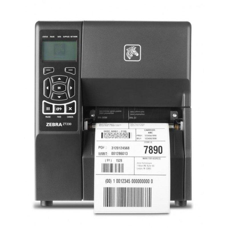 Zebra ZT230 DT/TT Printer - 203dpi - USB - Serial - Parallel