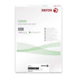 Xerox Yellow Labels 100 sheet