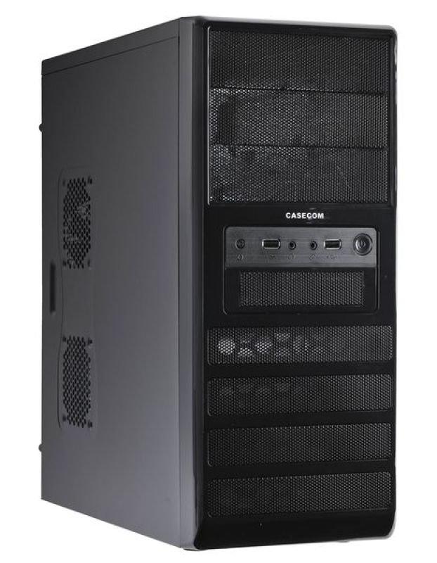 Image of Casecom CB-341 Black Mesh Mid Tower ATX Case - No PSU