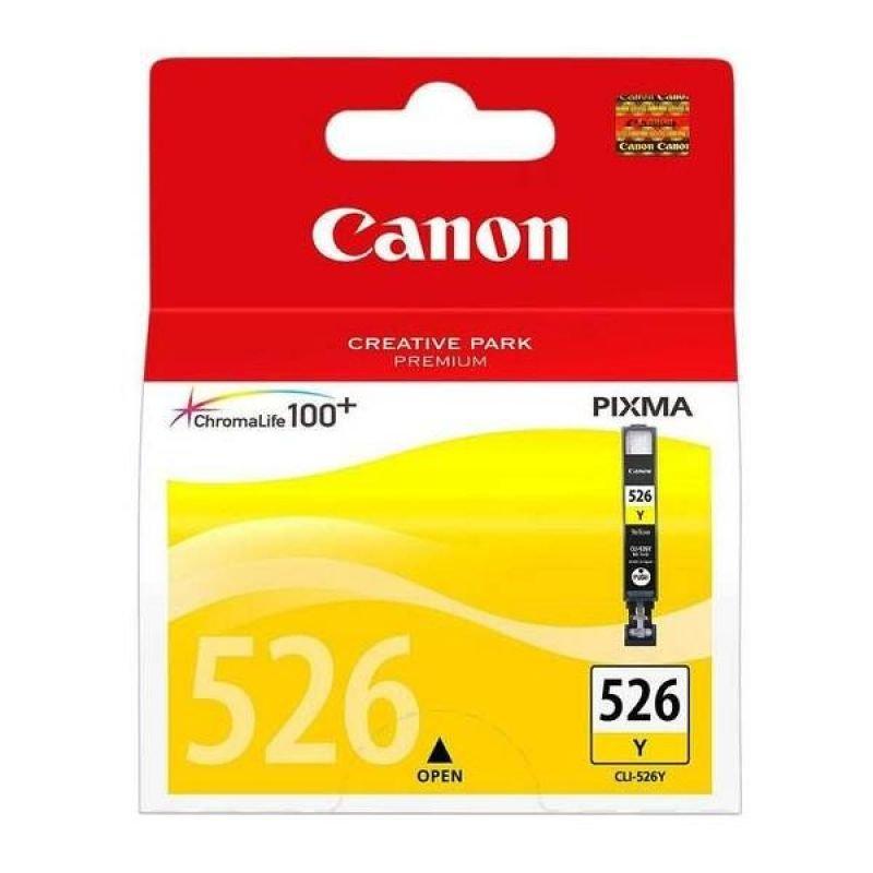 CANON CLI-526 YELLOW INK CARTRIDGE