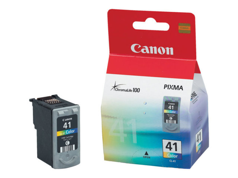 Canon CL-41 3 Colour (CMY) Ink Cartridge - 155 Pages - 0617B001