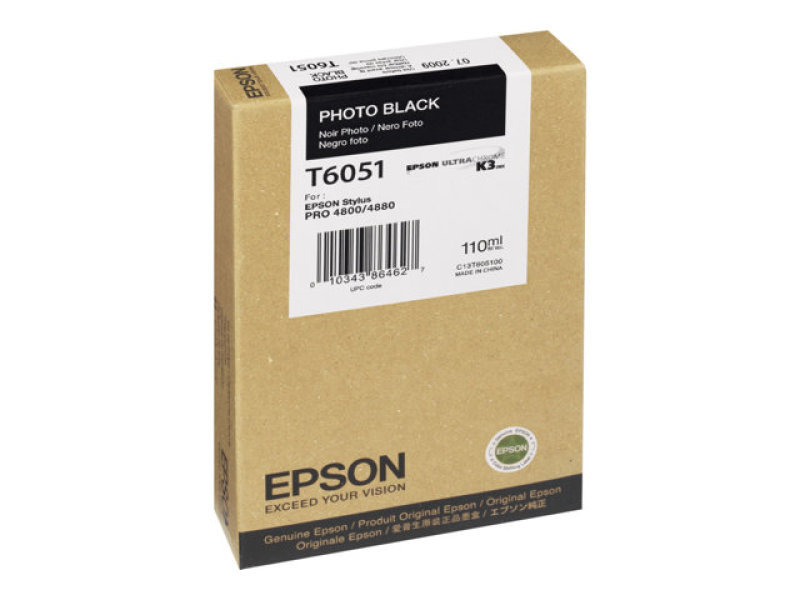 Epson T6051 - Print cartridge - 1 x photo black