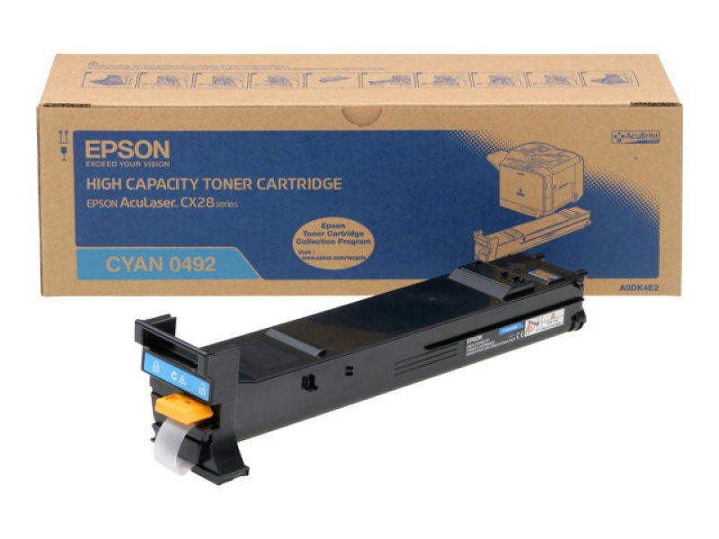Epson CX28DN Cyan Toner Cartridge