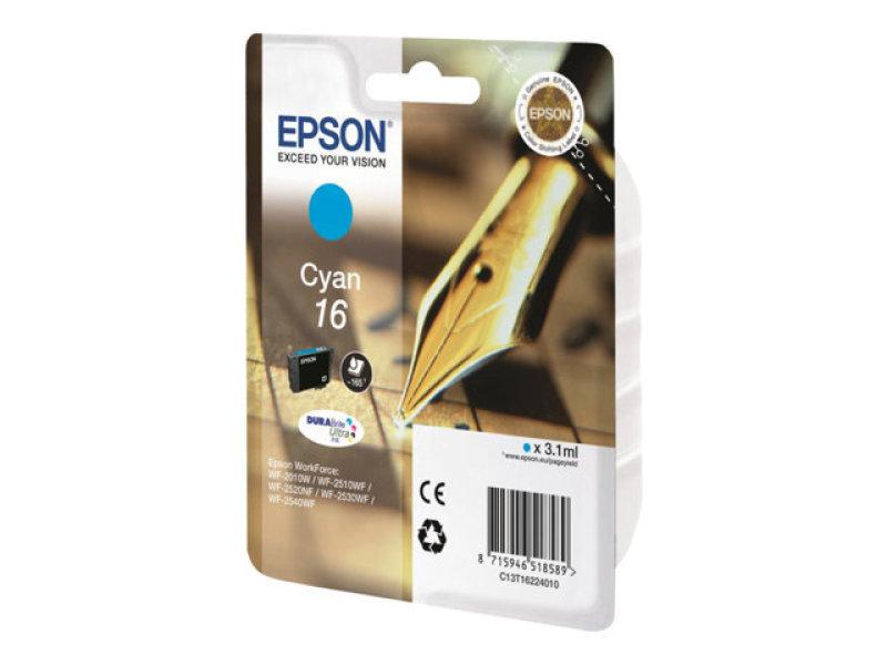 Epson 16 Cyan Ink Cartridge