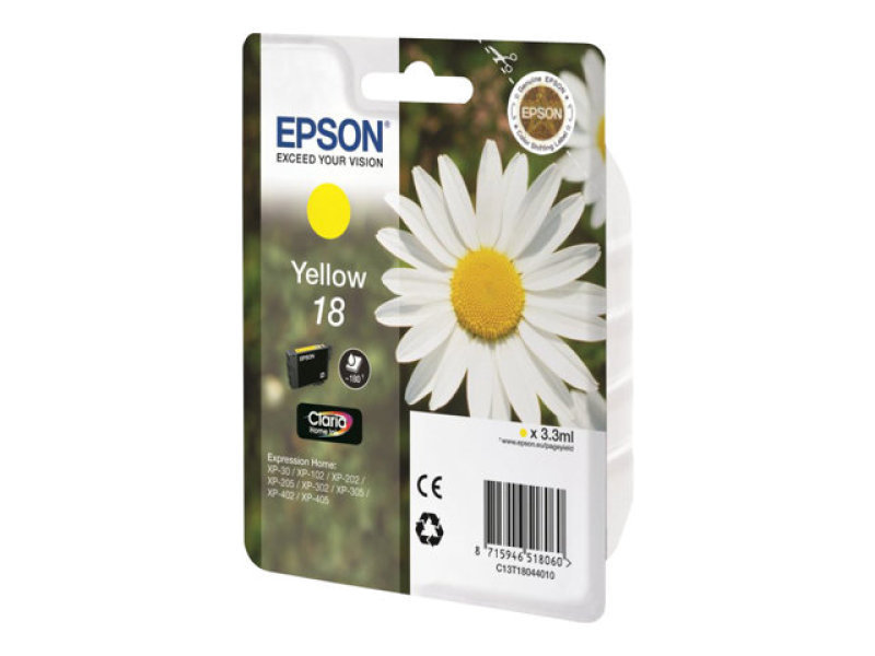 Epson Daisy T1804 Yellow Ink Cartridge