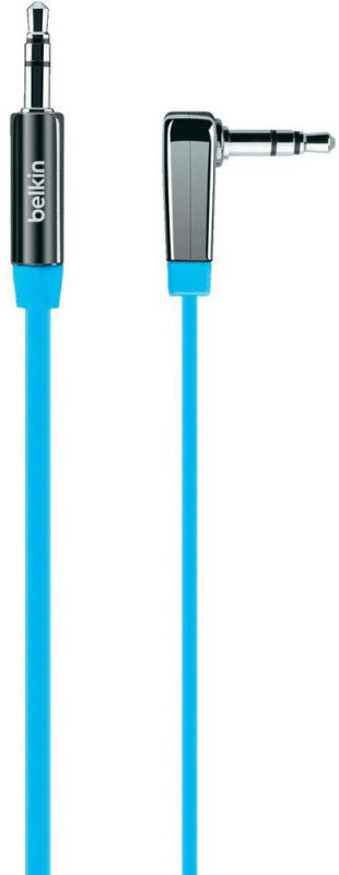 Belkin MIXIT Coiled 3.5mm Audio Cable Blue