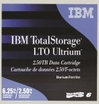 IBM TotalStorage LTO Ultrium - 2.5 TB