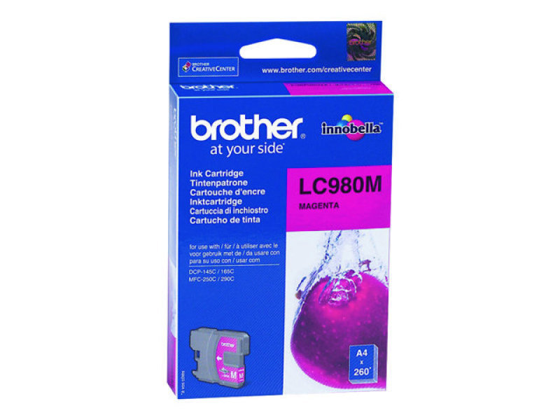*Brother LC980M Magenta Ink Cartridge for DCP145C
