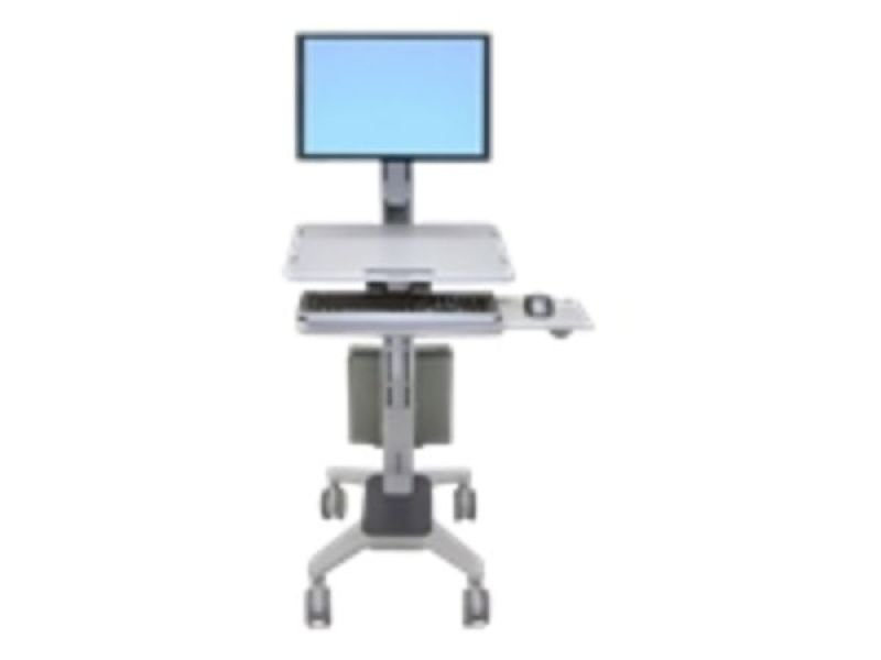 Ergotron WorkFit CMod Single Display SitStand Workstation