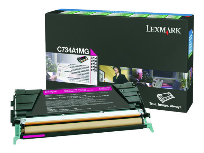 Magenta Return Program Toner Cartridge