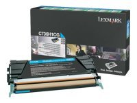 Lexmark C736H1CG High Capacity Cyan Toner cartridge