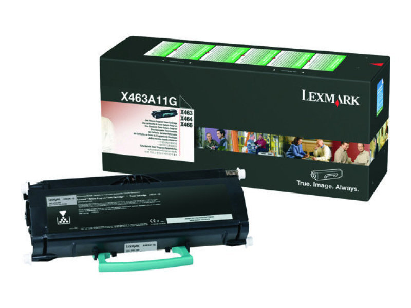 Lexmark 0X463A11G Black Toner Cartridge