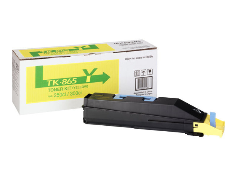 Kyocera TK-865Y Toner Cartridge