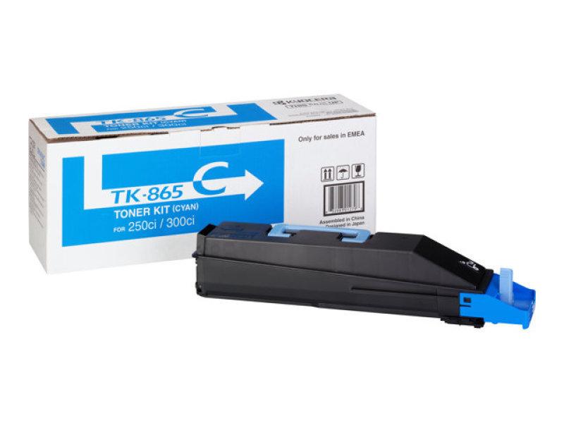Kyocera TK-865C Cyan Toner Cartridge