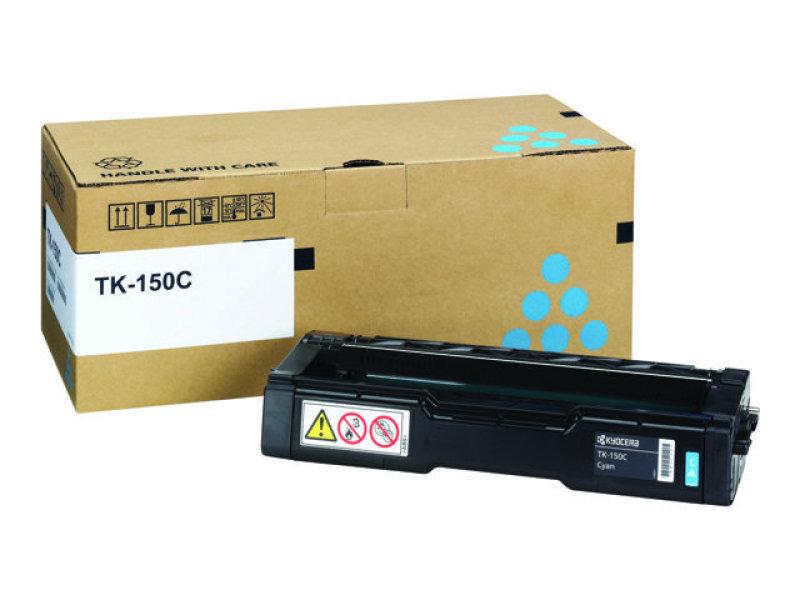 *Kyocera TK-150C Cyan Toner Cartridge