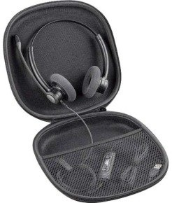 Plantronics Travel Case (Black) for Plantronics Blackwire C420 Headset