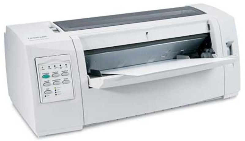 Lexmark Forms 2580n+ Mono Dot-matrix Printer