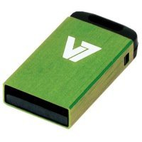 4GB V7 USB 2.0 Nano Flash Drive (Green)