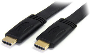 5m Flat High Speed HDMI Cable with Ethernet - HDMI - M/M