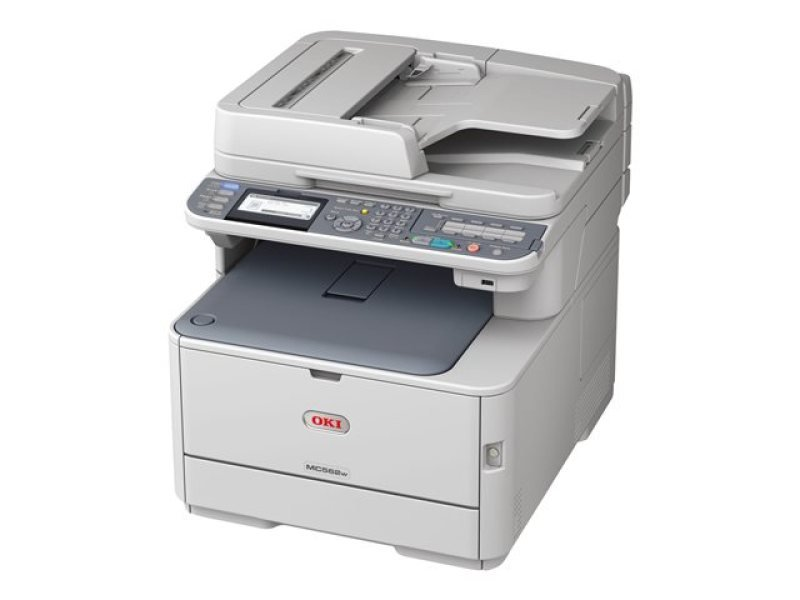 Image of OKI MC562dnw A4 Multifunction Colour Laser Printer
