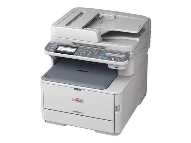 Image of OKI MC562dnw A4 Multifunction Colour Laser Printer