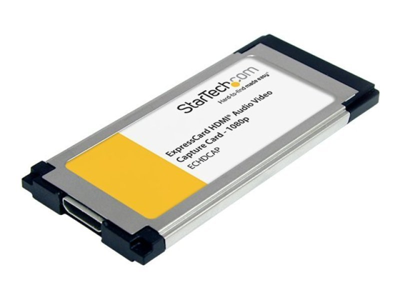 StarTech.com HDMI&reg to ExpressCard HD Video Capture Card Adapter 1080p