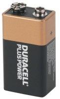 Duracell Plus Power 9v Pack Of 2.