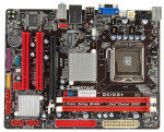 Biostar G41D3+ Socket 775 VGA 3 Channel Audio Micro ATX Motherboard