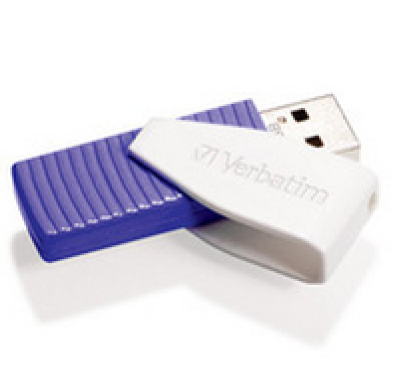 Verbatim Store 'n' Go Swivel (64GB) USB Flash Drive (violet)